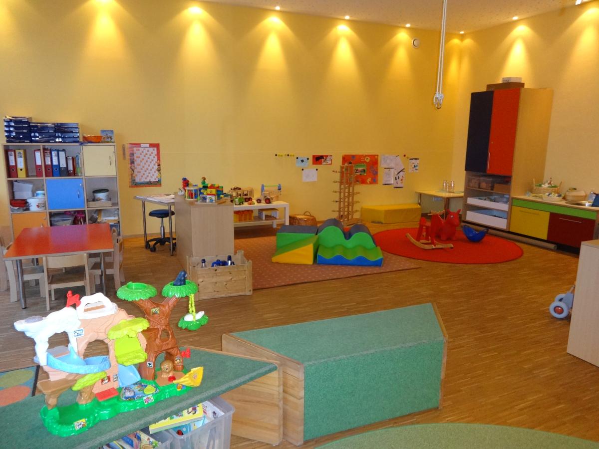 Raumangebot kindertageseinrichtung st stephanus for Raumgestaltung in der krippe